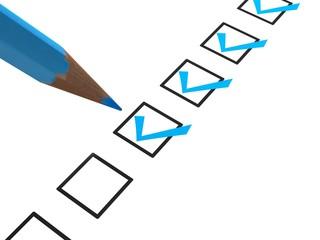 Questionnaire Blue