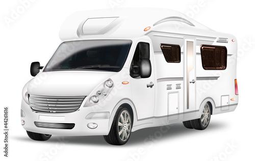 Luxus-Wohnmobil