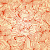 Abstract retro waves texture (seamless pattern)