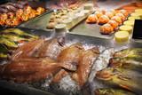 Fototapeta ryby - rynek - Na zakupach
