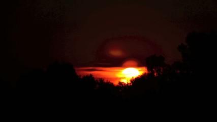 Time lapse sunset 5