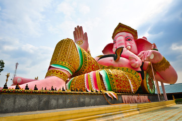 Ganesh elephant headed god statue in Thailand
