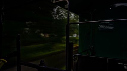Schmalspurbahn gegen wagon