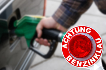 Benzindiebstahl Hohe Bezinpreise