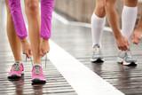 Fototapety Runner feet