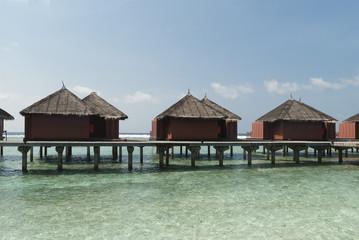 Sea landscape, Maldive islands