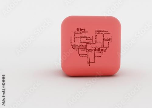 canvas print picture cubes