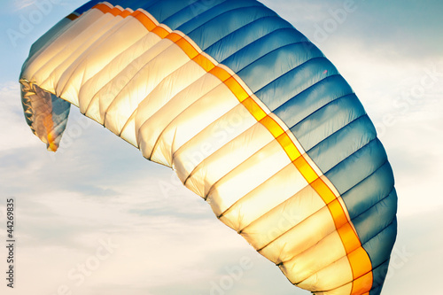 paraglider on sky