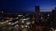 Fototapete Nacht - Modern - Stadt allgemein