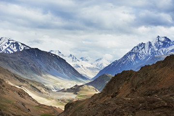 Himalayas mountains in india spiti valley