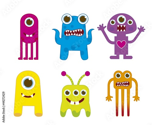 Plexiglas Schepselen monsters