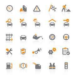 25 Web Icons - Car Service