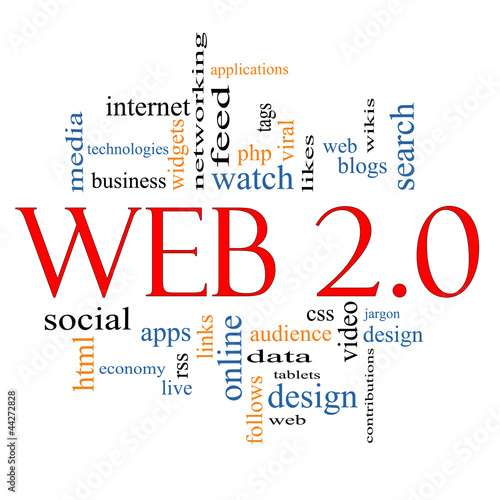 Web 2.0 Word Cloud Concept