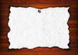 Vintage Empty White Paper