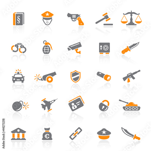 25 Web Icons - Law & Order