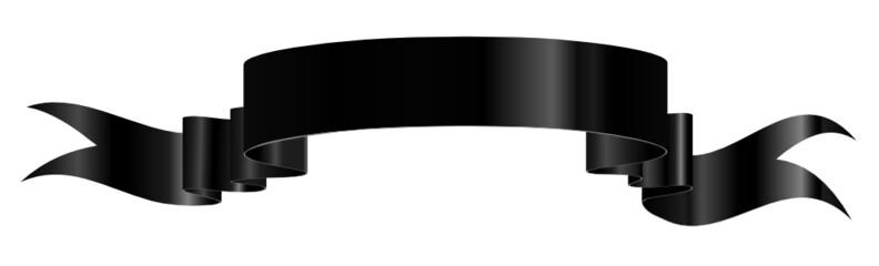 Banderole, Banner, Schwarz, Heraldik, Band, Fahne, Wappen, Retro