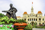 The City Hall of Saigon, Ho Chi Minh City, Vietnam