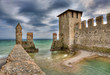 Castle of Sirmione, Italy.