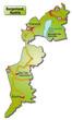 Inselkarte des Kantons Burgenland