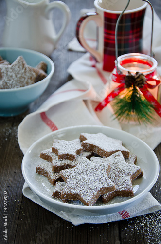 Chocolate Christmas Kekse