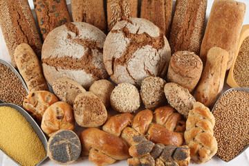 Brotsorten - Brot & Brötchen - Backwaren