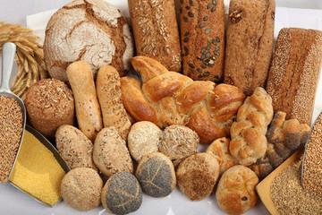 Brot und Brötchen - Brotsorten - Backwaren