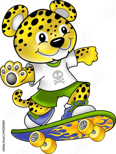 Leopard kids radical