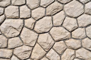 light stone wall