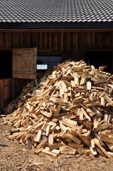 Holz, Holzhaufen, Brennholz
