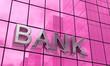 Spiegelfassade Pink - Bank Konzept 5