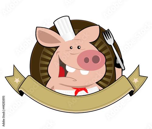 Pig Restaurant Banner