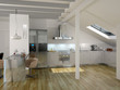 Modern Luxury Kitchen / Apartment Architecture Interior