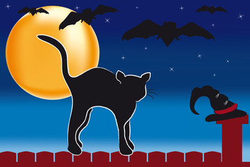 Halloween Kater New
