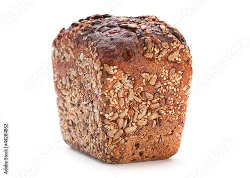 Black barley bread
