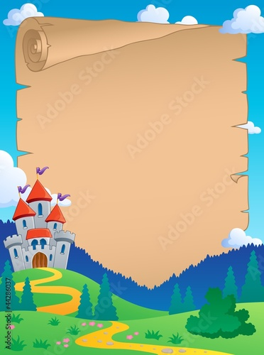 Poster Pony Fairy tale theme parchment 4