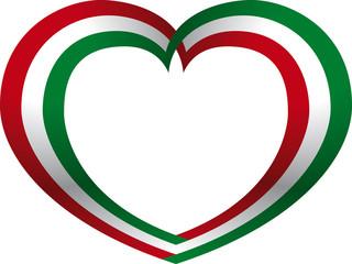Italia logo cuore - Love Itay logo