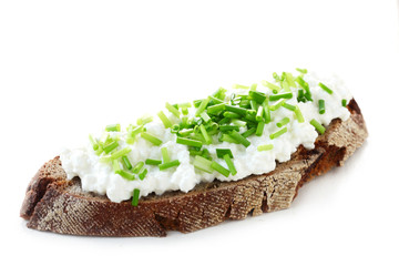 Wholesome Bread with Cottage Cheese