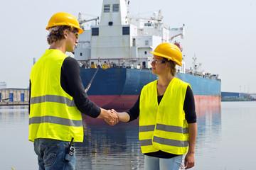 Docker handshake