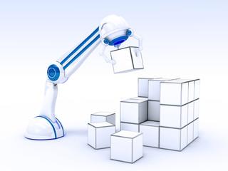 Mano Robotica con Cubetti
