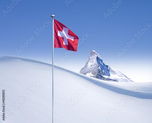 Fototapeten,matterhorn,swiss,zermatt,winter
