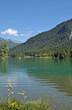 der beliebte Pillersee in Tirol im Pillerseetal