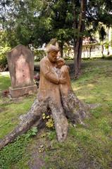 Die Liebe einer Baumwurzel