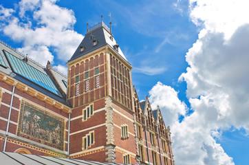 Rijksmuseum in Amsterdam. Netherlands