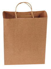 Shopping bag. Isolated