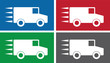 Truck symbols in various colors.