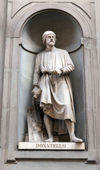 Donatello (1386 – 1466) - Renaissance artist and sculptor