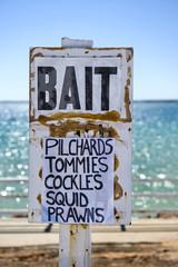 Bait Sign