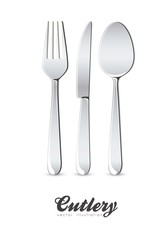 Illustration of cutlery