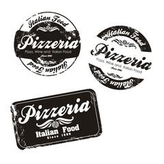 pizzeria labels