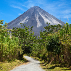 Road to Arenal Volcano in Costa Rica